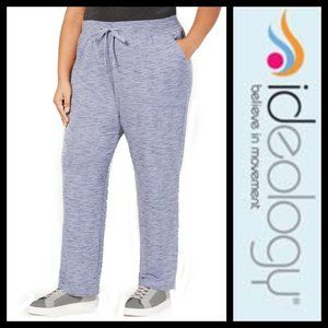 Ideology Heathered Sweatpants Tranquility NWT 3X